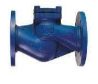 Клапан зворотній підйомний фланцевий Fig. С115