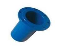 Патрубок чавунний для НПВХ труб фланцевий Fig. L105