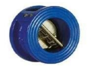 Check valve double-leaf interflange Fig. C201
