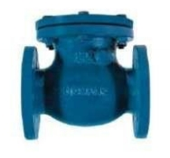 Check valve rotary flange Fig. C103