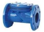 Check valve rotary flange Fig. C105