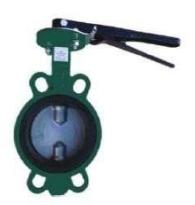 Adjusting rotary damper interflange Fig. P202-I