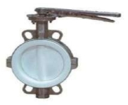 Adjusting rotary damper interflange Fig. P221