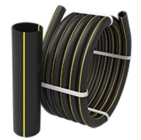 Pipe gas pipeline from polyethylene PE-80, PE-100