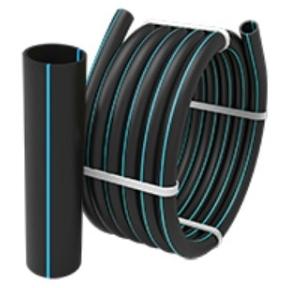 Труба водопроводная напорная из полиэтилена ПЕ 100